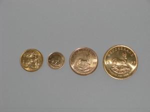 Münzen in jeder Form